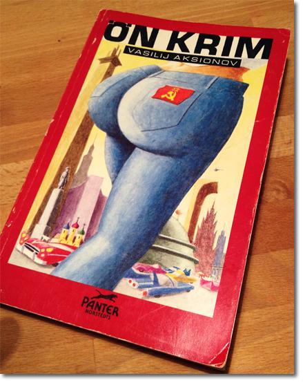 Omslag till Vasilij Aksionovs roman Ön Krim
