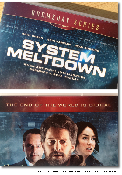 Omslag till filmen System Meltdown - the end of the world is digital