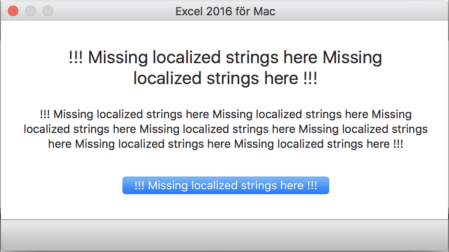 """Missing localized strings"" error message"