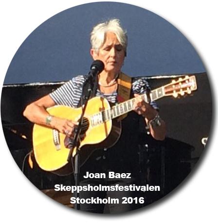 joan baez på skeppsholmsfestivalen i stockholm 2016