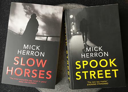 mick herrons böcker slow horses och spook street