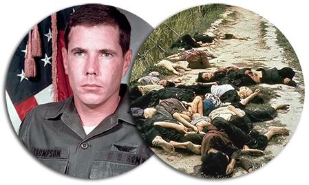 Hugh Thompson som räddade människor från son my-massakern