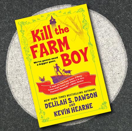 omslag till kill the farm boy