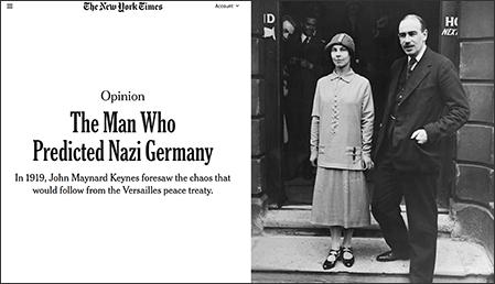 new york times artikel om keynes